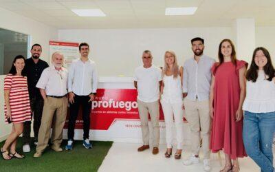 Reunión con la Delegación Central de Profuego en Portugal