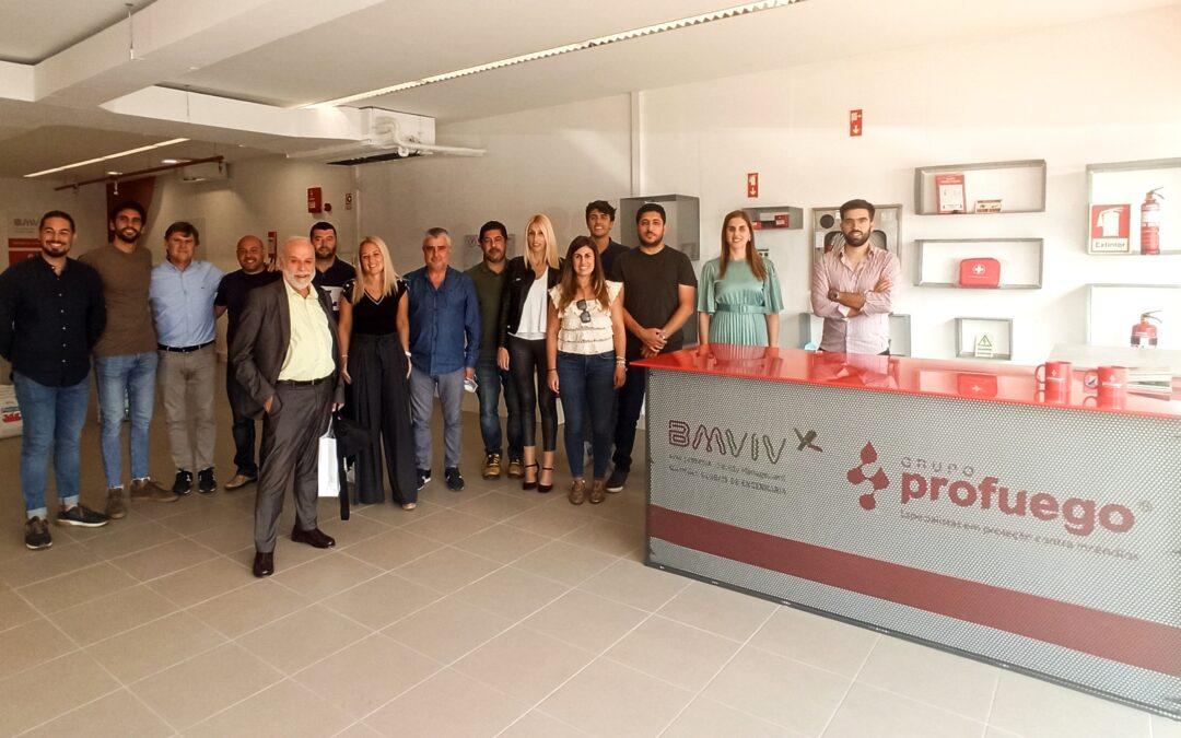 Jornadas de formación en Profuego BMVIV Portugal
